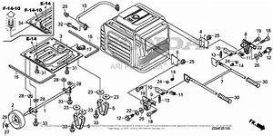 Honda Eu6500is A Generator  Jpn  Vin  Easj