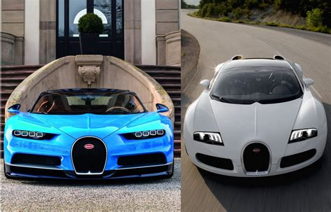 Bugatti Chiron Vs Bugatti Veyron Antyradiopl