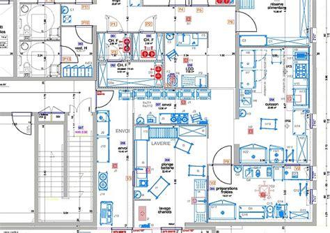 plan cuisine collective plan cuisine professionnelle maison moderne