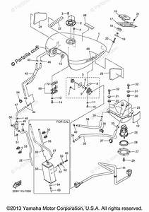 Yamaha Motorcycle 2007 Oem Parts Diagram For Fuel Tank