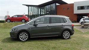 Golf Sportsvan 2017 : volkswagen golf sportsvan highline 2017 2018 indium grey metallic youtube ~ Medecine-chirurgie-esthetiques.com Avis de Voitures