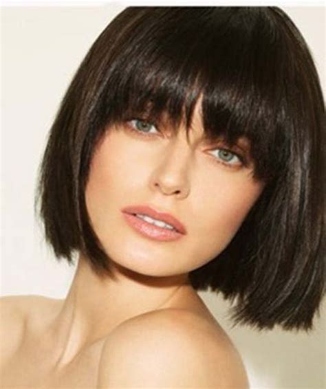 15 Dominating Short Hairstyles With Bangs Hairstyle For