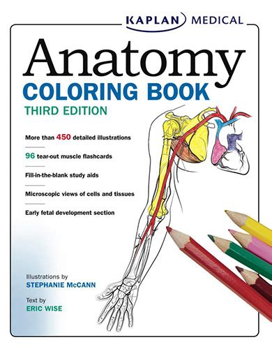 kaplan anatomy coloring book  edition   smtebooks