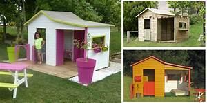 Maison De Jardin Enfant En Bois : une maisonnette en bois dans votre jardin non class ~ Premium-room.com Idées de Décoration