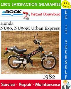 Best  U2606 U2606 1982 Honda Nu50  Nu50m Urban Express Scooter