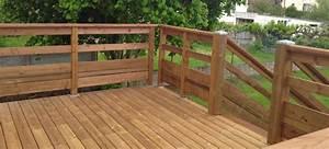 Garde Corps Exterieur Bois : terrasse bois garde corps nos conseils ~ Dailycaller-alerts.com Idées de Décoration