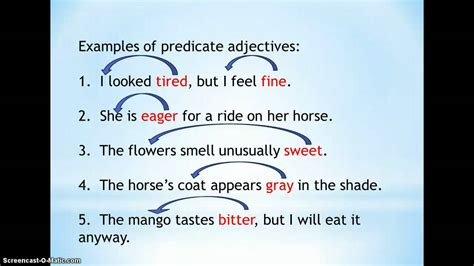nouns verbs  adjectives sb lesson  youtube