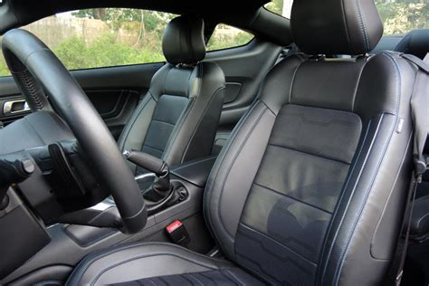 ford mustang gt coupe interior review seating