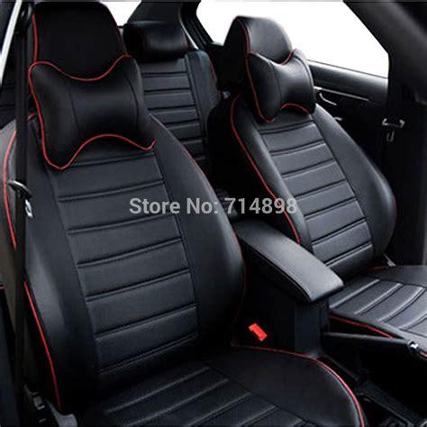 siege caddie aliexpress com buy car seat cover pu leather proper fit