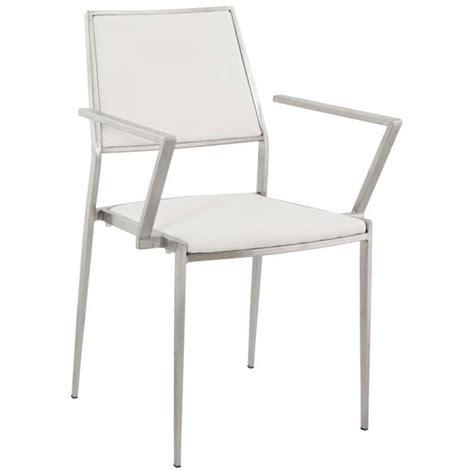 chaise inox chaise design inox blanc