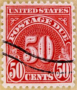 stamps usa postage due 50c us postage stamps poste timbr With us letter stamp