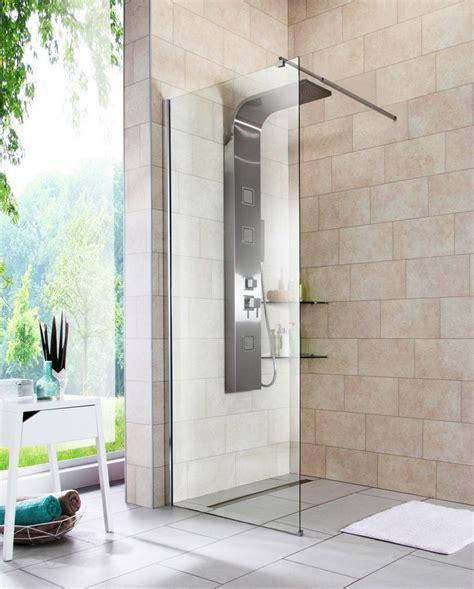 walk in dusche 187 duschabtrennung 171 breite 80 cm otto