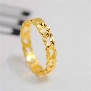 Comford 24k gold ring for women for 24k gold wedding ring
