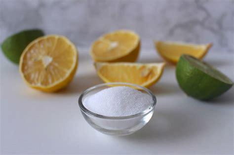 acido citrico negli alimenti acido citrico ecco i suoi 1001 usi e i trucchi per
