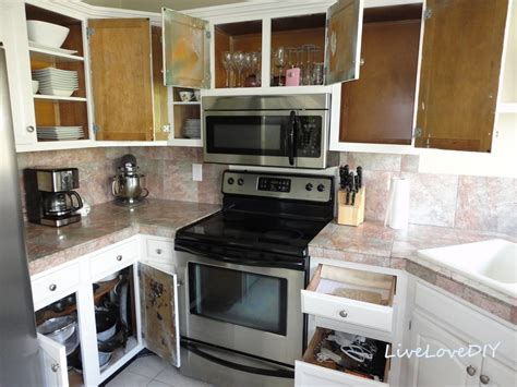 diy kitchen cabinet decorating ideas livelovediy a diy 39 s guide to paint products that