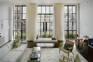 Fenstergestaltung Mit Gardinen Beispiele : gardinen ideen f r wohnzimmer ~ Frokenaadalensverden.com Haus und Dekorationen