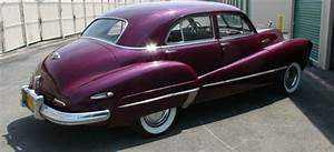 Beautiful Burgundy 1946 Buick Super Model 51 Four Door