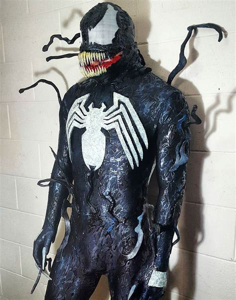 VENOM SYMBIOTE REPLICA COSTUME COSPLAY SPIDERMAN CARNAGE ...