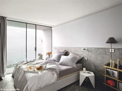 maison et travaux chambre style décoration chambre gris et blanc