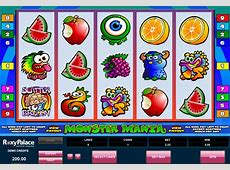 Monster Mania Online Slot 5 PayLines Microgaming