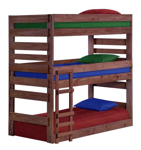 triple bunk twin size  simply woods furniture