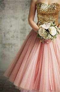 pink and gold wedding theme knot for life With pink and gold wedding dress