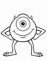 Monster Coloring Pages sketch template