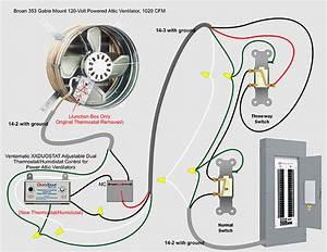 Wiring Diagram Attic Fan