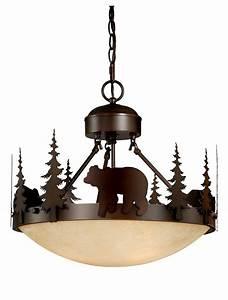 Bear, Vaxcel, Yellowstone, Rustic, Country, Chandelier, Bozeman, Lodge, Light, Cf55718bbz