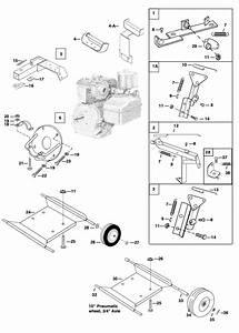 5 Hp Engine Assembly - Mechanical Earth Drill Parts
