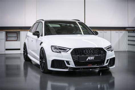 abt releases  audi rs   horsepower  car