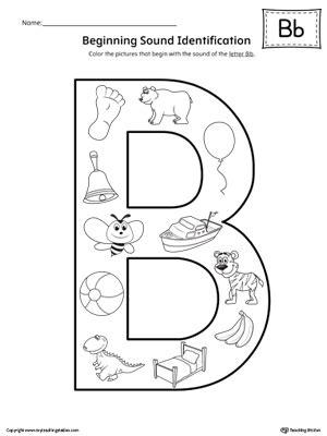 picture letter match letter  worksheet