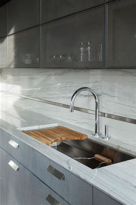 kitchen sink with cutting board kitchen sink with sliding chopping board transitional