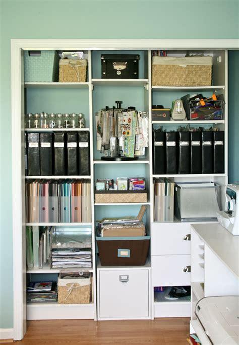 craft storage closet nancy damiano s scrap room pink paislee craft storage 2981