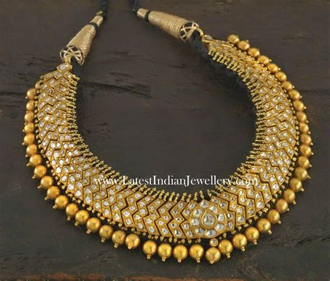 7d2c7c25f3f Traditional South Indian Gold Necklace Designs - Traumspuren