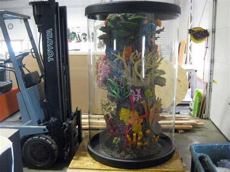 cylinder aquarium midwest custom aquarium