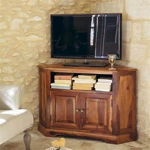 meuble tv bibliotheque design en 50 idees inspirantes With meuble d angle maison du monde
