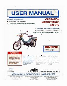 Kinetic Moped User U0026 39 S Manual By Christopher Budde
