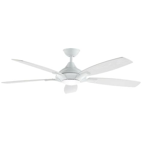 integrated led ceiling fan home decorators collection petersford 52 in integrated