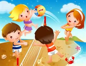 Beach Volleyball Clip Art