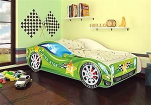 Matratze 70 140 : autobett kinderbett bett auto car junior in zwei farben mit lattenrost und matratze 70x140 cm ~ Markanthonyermac.com Haus und Dekorationen