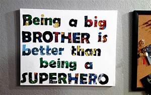 DIY Boys Room Decor: Superhero Sign - Rilos & MiMi