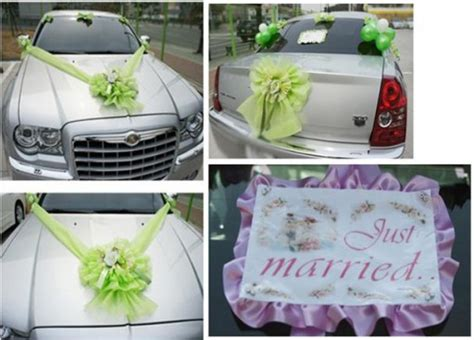 diy wedding car decoration ideas diy tag