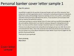 personal banker cover letter With private banking cover letter
