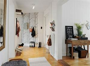 Tapeten Für Den Flur : wohnung einrichten tapeten coole gestaltung f c bcr den flur wohnidee plus rustikal stil ~ Frokenaadalensverden.com Haus und Dekorationen