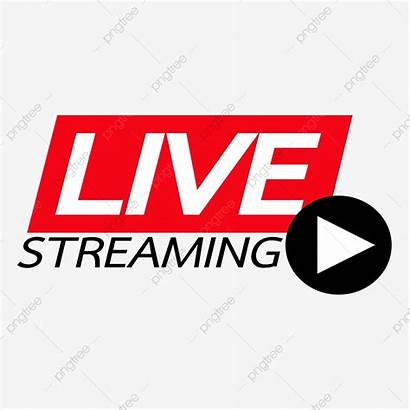 Streaming Vector Stream Icon Background Clipart Internet