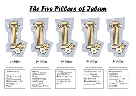 5 pillars of islam worksheet by edithmaud teaching