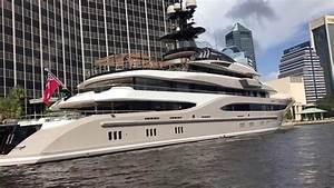 Shad Khan39s Mega Yacht Kismet 1 Docked At Jacksonville