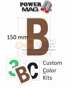 custom colors large magnetic letters buy online 300 magnet With custom magnetic letters