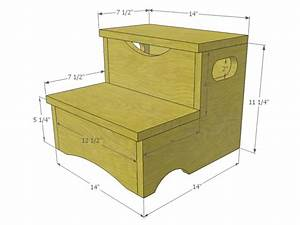 Woodworking Project: How to Build a Storage Step Stool for